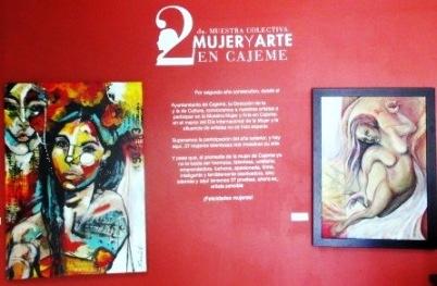 Foto 1, Expo. Arte y Mujer